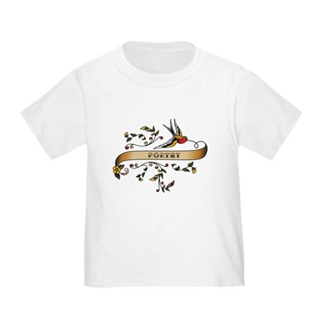 Poetry Scroll Toddler T-Shirt