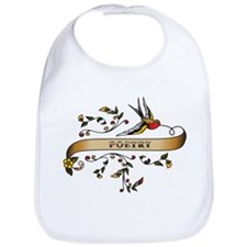 Poetry Scroll Bib