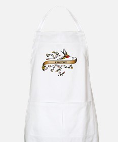 Poetry Scroll BBQ Apron
