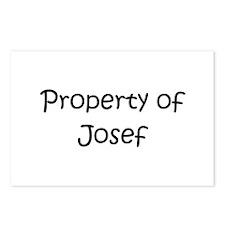 Unique Josef Postcards (Package of 8)