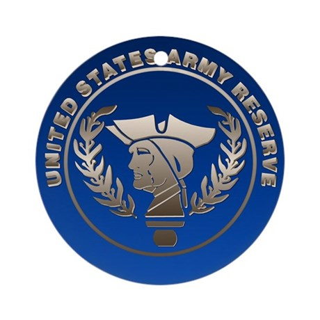 Army Reserve Seal Keepsake (Round)