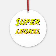 Super leonel Ornament (Round)