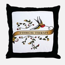 Physical Therapy Scroll Throw Pillow