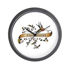 Phlebotomy Scroll Wall Clock