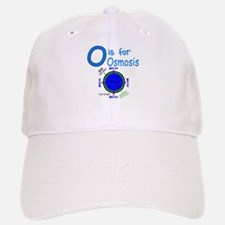 O is for Osmosis Baseball Baseball Cap