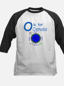 O is for Osmosis Kids Baseball Jersey