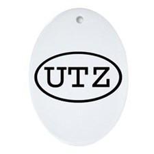 UTZ Oval Oval Ornament