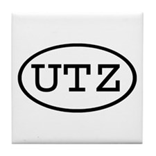 UTZ Oval Tile Coaster