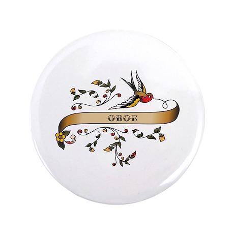 "Oboe Scroll 3.5"" Button"