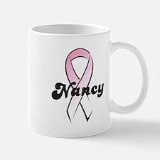 Nancy Pink Ribbon Mug