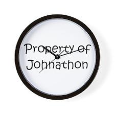 Unique Johnathon's Wall Clock