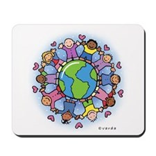 kids on earth Mousepad
