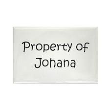 Unique Johana Rectangle Magnet