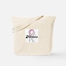 Minnie Pink Ribbon Tote Bag