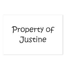 Cute Justine Postcards (Package of 8)