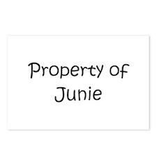 Unique Junie Postcards (Package of 8)