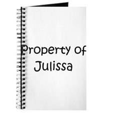 Unique Julissa Journal