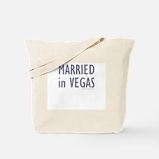 Married in Vegas - Tote Bag
