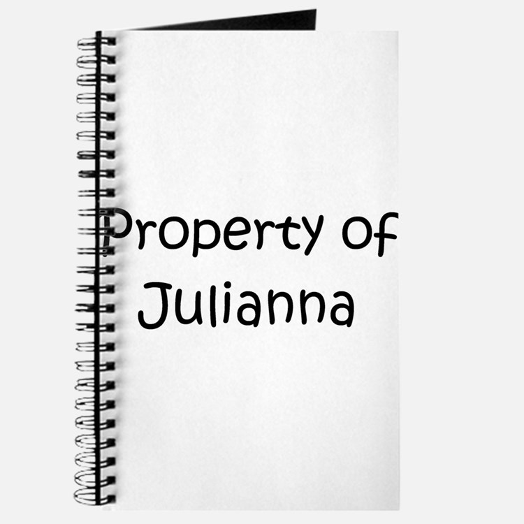 Cute Julianna Journal