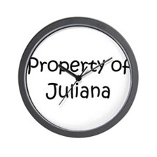 Funny Juliana Wall Clock