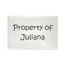 Unique Juliana Rectangle Magnet