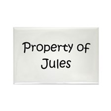 Cool Jules name Rectangle Magnet
