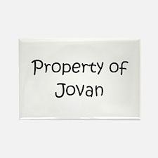 Cool Jovan Rectangle Magnet