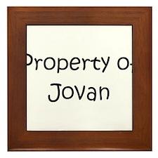 Unique Jovan Framed Tile