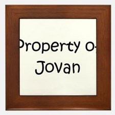 Cool Jovan Framed Tile