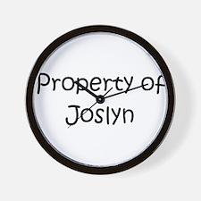 Unique Joslyn Wall Clock