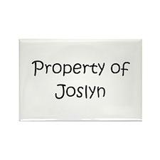 Unique Joslyn Rectangle Magnet