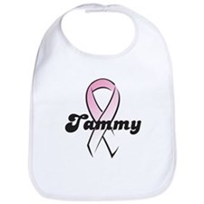 Tammy Pink Ribbon Bib