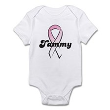 Tammy Pink Ribbon Infant Bodysuit