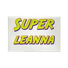 Super leanna Rectangle Magnet