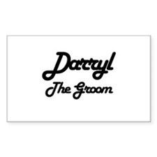 Darryl - The Groom Rectangle Decal