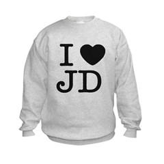 I Heart J.D. Sweatshirt