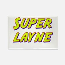 Super layne Rectangle Magnet