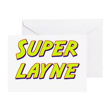 Super layne Greeting Card