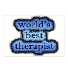world's best therapist Postcards (Package of 8)