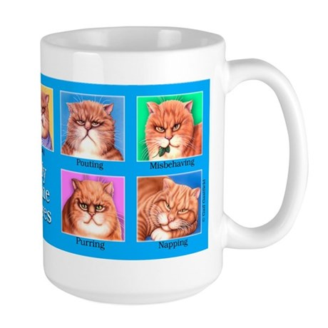 Nine Lives Large Mug