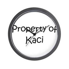 Cool Kacie Wall Clock