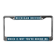 Michigan Driver license frame