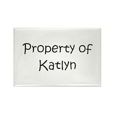 Unique Katlyn Rectangle Magnet