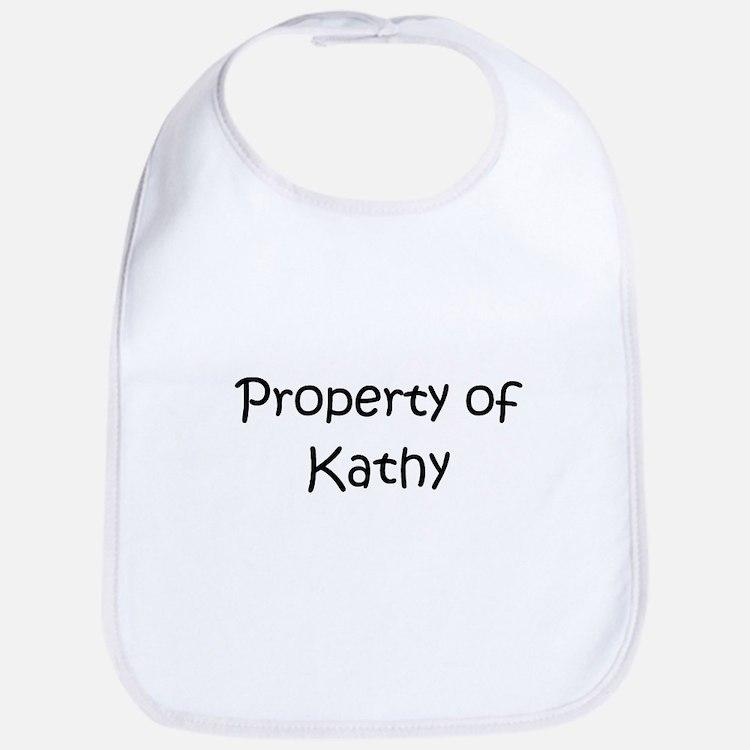 Cute Property of kathy Bib