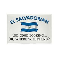 Good Lkg El Salvadorian 2 Rectangle Magnet