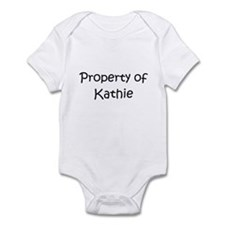 Funny Property of kathy Infant Bodysuit