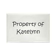 Unique Katelynn Rectangle Magnet