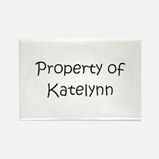 Cute Katelynn Rectangle Magnet