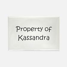 Cute Kassandra Rectangle Magnet