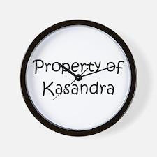 Unique Kasandra Wall Clock